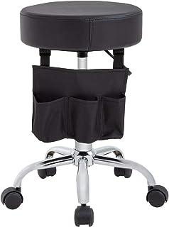 T-LoVendo TLV-TY-S15 Taburete giratorio elevable con bolsa silla de trabajo banqueta