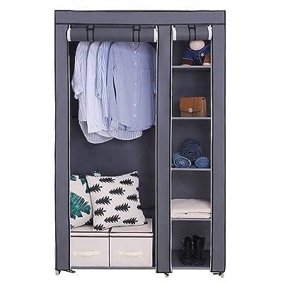 Tenozek Non-Woven Fabric Wardrobe Portable Clos...