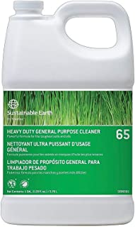 Sustainable Earth 814964#65 All Purpose Heavy Duty General Cleaner and Degreaser 1 gal