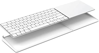 Vaydeer Stand Connects Magic Trackpad 2(MJ2R2LLA) and Latest Magic Keyboard(MLA22LL/A) Keyboard and Trackpad Not Included(White) (White)