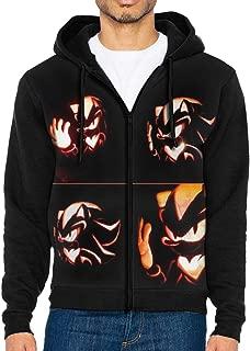Men's Jacket Sweatshirt Shadow_The_Hedgehog Hoodies Men Lightweight Sports Full Zip Hoodie Hooded