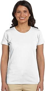 Econscious Ladies Organic Cotton T-Shirt, White, XXX-Large. (Pack of 3)