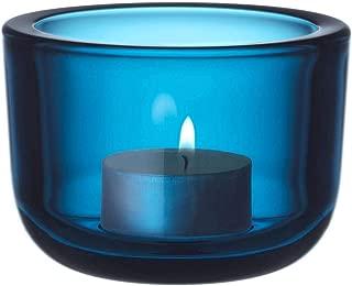 Iittala Valkea Tealight Holder Turquoise