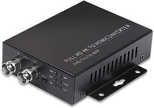 Wsdcam TVI to HDMI Converter Full HD 4K Converter, 1080p/720p/4K/8MP/5MP/4MP/3MP, BNC to HDMI Video Converter (TVI+CVBS+CVI 4MP+AHD 5MP)