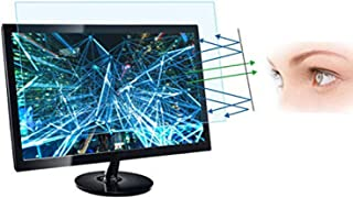 "21.5 Inch Monitor Screen Protector -Blue Light Filter, Eye Protection Blue Light Blocking Anti Glare Screen Protector with 16:9 Aspect Ratio Screen(476x268 mm) for 21.5"" Widescreen Desktop Monitor"