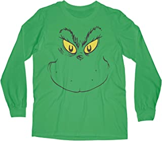 Long Sleeve Face of Stink Stank Stunk Toddler T Shirt for Halloween or Christmas Apparel
