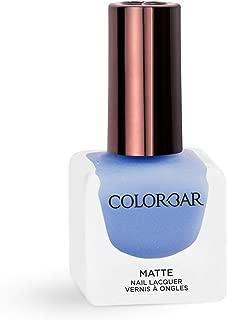 Colorbar Matte Nail Lacquer, Caspian Sea, 12 ml
