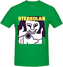 Stereolab French Disko Super Electric Funny Soft O Tee Shirts for Mens