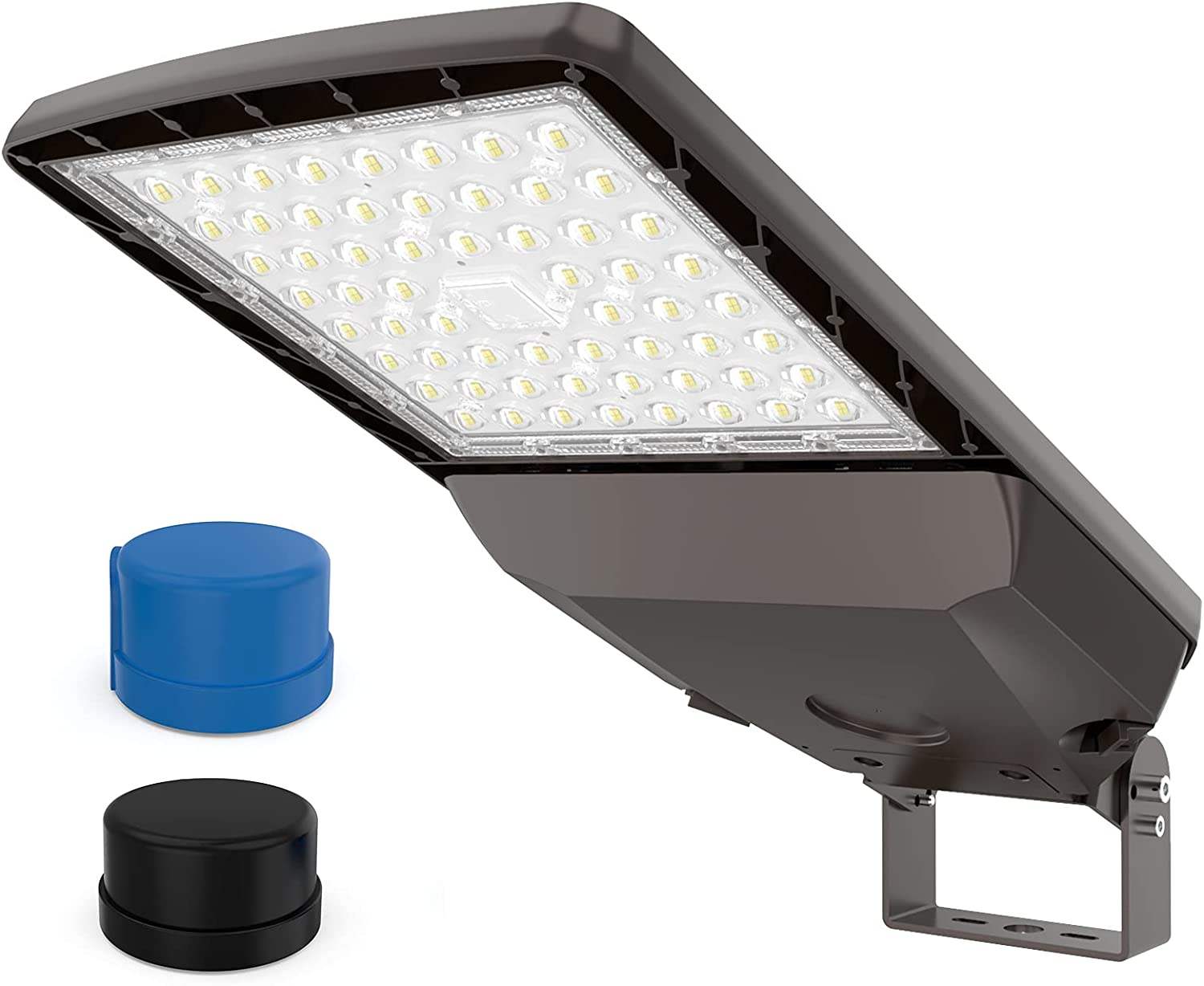 HYPERLITE Parking Lot Lights with Dusk to Dawn Photocell 100W 15