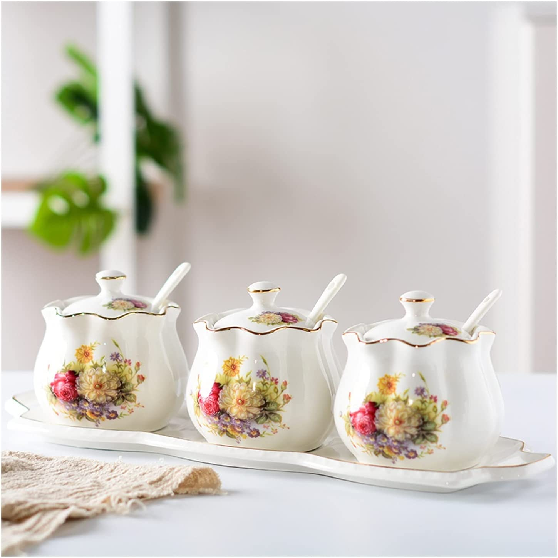 Condiment Jar Spice Container Ceramic Seasoning Columbus Mall Pot San Antonio Mall Kitchen Supp