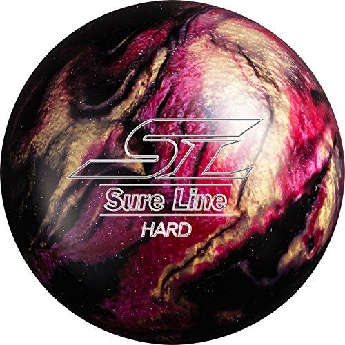 (ABS) ボウリングボール シュアラインハード ブラック 12ポンド 【スペアボール】
