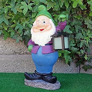 Globo Garden Gnome Lantern Multi Colour