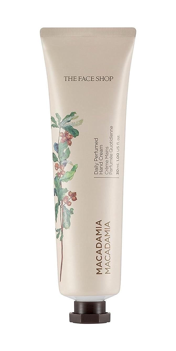 はっきりと見込みパン屋[1+1] THE FACE SHOP Daily Perfume Hand Cream [07. Macadamia] ザフェイスショップ デイリーパフュームハンドクリーム [07.マカダミア] [new] [並行輸入品]