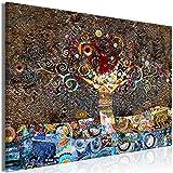 murando Cuadro en Lienzo Gustav Klimt 90x60 cm 1 Parte Impresión en Material Tejido no Tejido Impresión Artística Imagen Gráfica Decoracion de Pared Abstracto l-A-0050-b-a