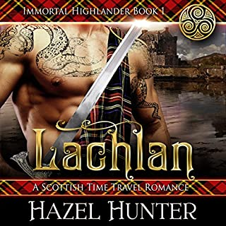 Lachlan: A Scottish Time Travel Romance audiobook cover art
