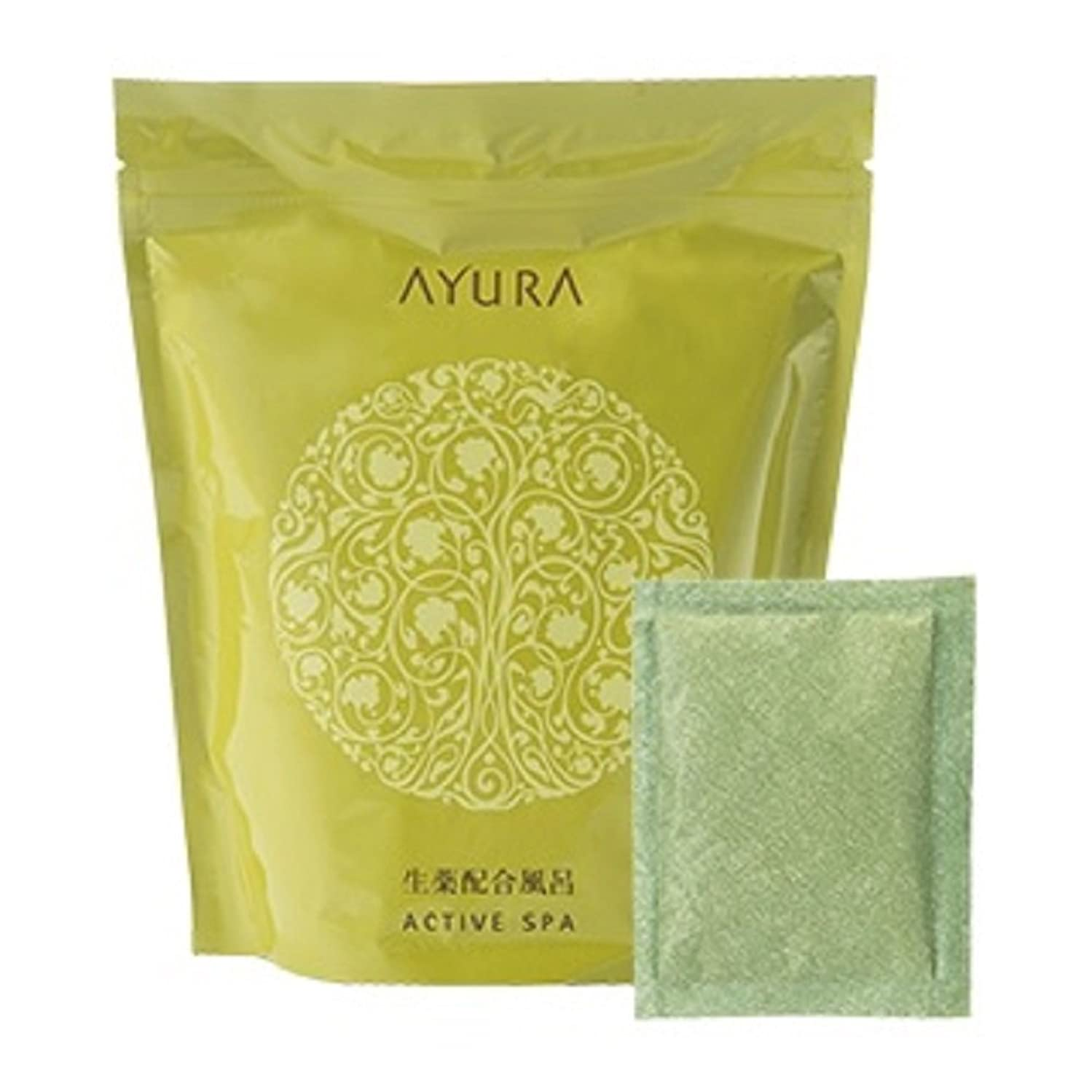 メイドそっとセーブアユーラ (AYURA) アクティブスパα 30g 10包入 (医薬部外品) 〈薬用 入浴剤〉