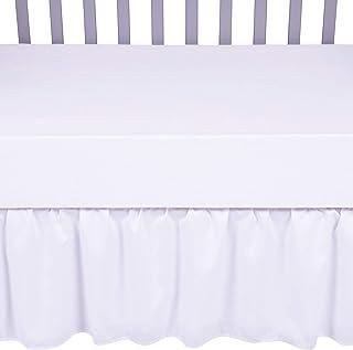 Sammy & Lou Crib Skirt, Nursery, White
