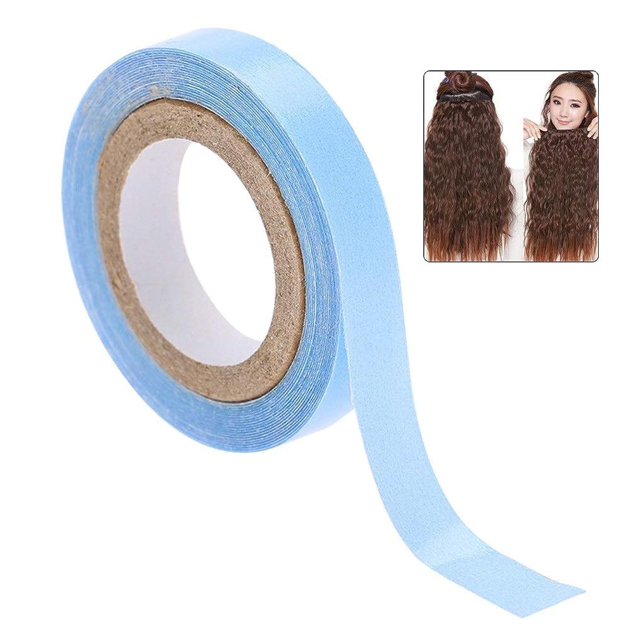 瞳軽食農業のヘアエクステンション両面粘着テープ1枚