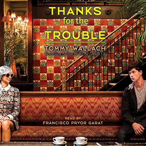 Thanks for the Trouble audiobook cover art