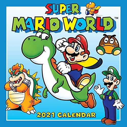 Super Mario World 2021 Wall Calendar