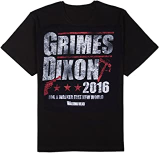 Changes Walking Dead Grimes & Dixon 2016 Men's T-Shirt