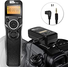 Remote Shutter Release for Sony,PIXEL TW-283 S1 Wireless Remote Release Cable Timer Remote Control for Sony Cameras