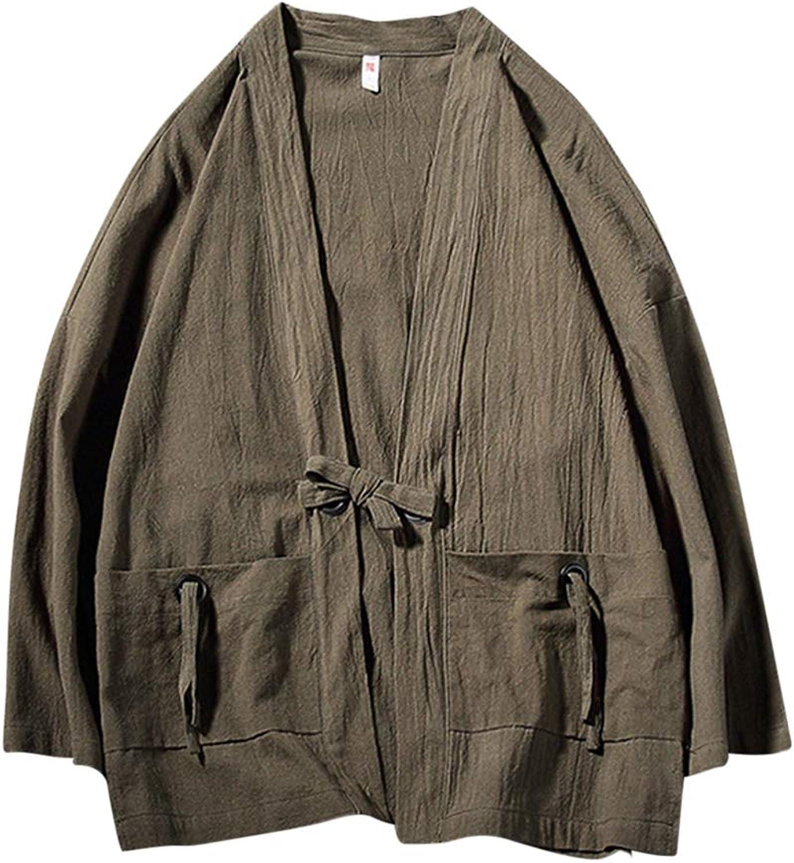 Besbomig Besbomig Besbomig Japanese Kimono Cardigan for Men
