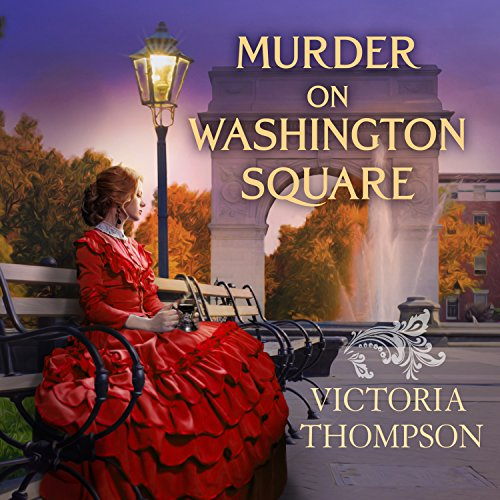 Murder on Washington Square audiobook cover art