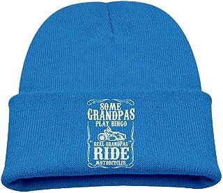 ADGoods Kids Children Some Grandpas Play Bingo Real Ride Motorcycles Beanie Hat Knitted Beanie Knit Beanie For Boys Girls ...