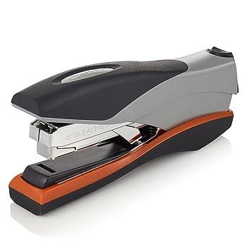 Swingline Stapler, Optima 40, Full Strip, Desktop Stapler, 40 Sheet Capacity, Reduced Effort Stapler for Office Desk Accessories and Home Office Supplies, Orange/Silver/Black, Full Size (87845)