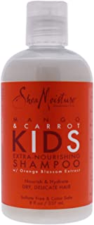 SheaMoisture Mango & Carrot Kids Extra-Nourishing Shampoo, 8 Ounce