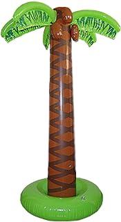 Smiffys-Inflable Palmera,165cm aprox, hinchable, color marrón, No es applicable (Smiffy's 26357) , color/modelo surtido