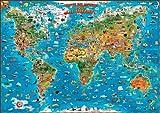 Carte du Monde pour enfants