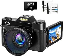 4K Digital Camera 48MP Camera Vlogging Camera for YouTube...