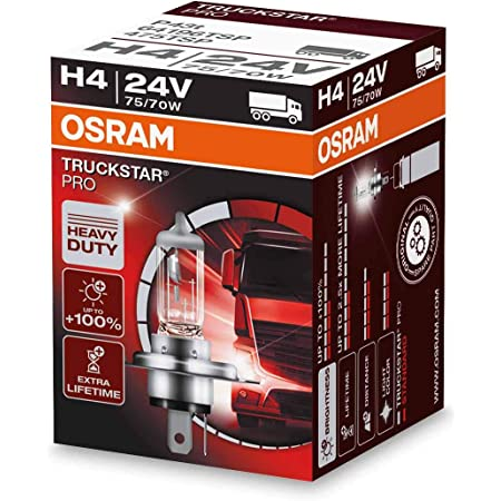 Osram Truckstar Pro H4 Glühlampe 64196tsp 24v 1er Faltschachtel Auto