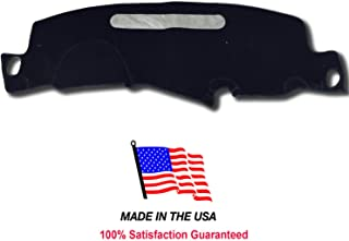 1998-2004 Chevy Blazer Mini S-10 Carpet Dash Cover Mat Pad CH84 (BLACK)