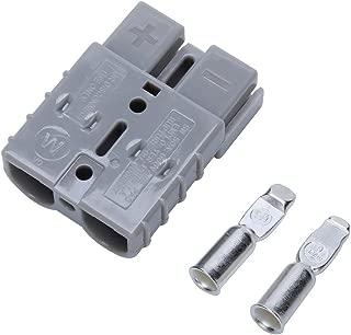 10L0L SIDE Charger Plug Receptacle Fits 83-94 Marathon Electric Golf Cart Replace EZGO SB50 CHARGER