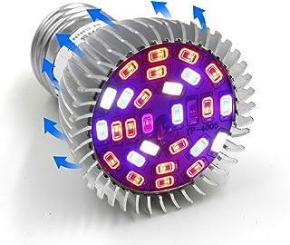 Uonlytech LED Plant Growth Lamp Full Spectrum Plant Bulb Flat Spotlight E14 Grow Lights for Indoor House Plants