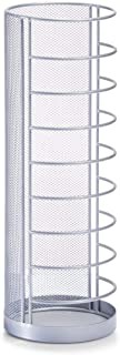 comprar comparacion Zeller 17714 Paragüero de malla de acero, Gris, Ø14 x 40.5 cm