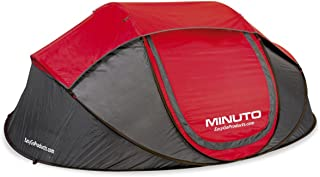 EasyGO Products Minuto Instant Setup 3 to 4 Person Cabin Pop Up Dome Waterproof Tent