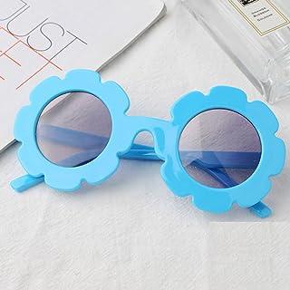 sharprepublic - sharprepublic 2x Gafas De Sol Vintage Flower Para Niños Pequeños UV400