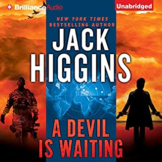 A Devil is Waiting audiobook cover art