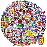Q-Window Sticker Pack (360-tlg) Vinyl Kawaii Sticker Aufkleber für Laptop,Wasserflaschen,Gepäck,Skateboard,PS4,Xbox One,Phone,Car Erwachsene,Teenager,Jungen und Mädchen-wasserdicht - 7