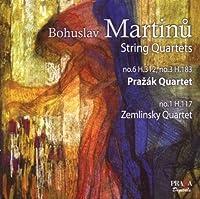 String Quartets Nos 1 3 & 6 (Hybr) by Prazak Quartet (2009-12-08)
