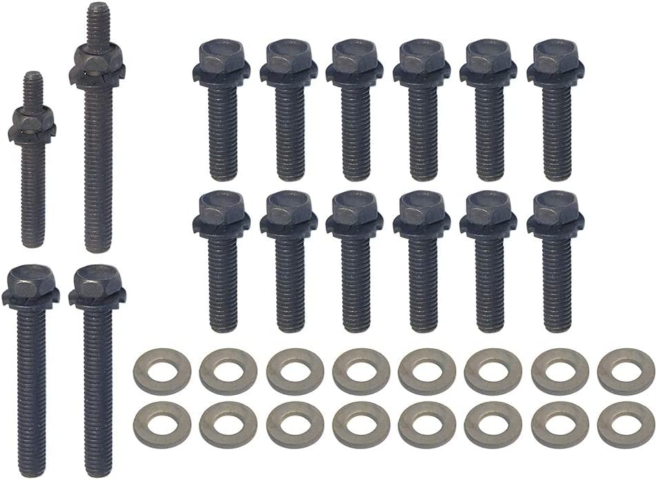 Auto Krafters Compatible Replacement For Exhaust Free shipping on posting reviews K Manifold Max 80% OFF Bolt