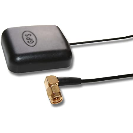 vhbw Antena GPS Activa con conexión SMA