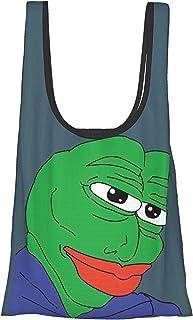 Carmet(2) 折叠 购物袋 环保袋 购物袋 多功能 大容量 小巧 手提包 时尚 肩背 包 口袋尺寸 携带方便 男女通用