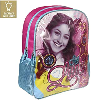 Backpack with Light Soy Luna 41cm Disney School Bag Mochila con luz