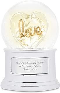 Best love light up snow globe Reviews