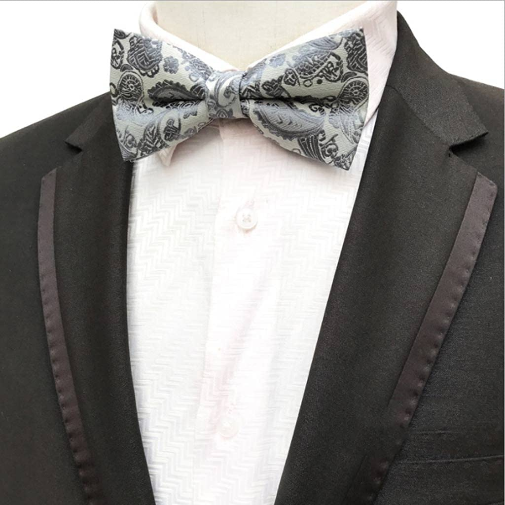 ZZABC Dedication Tampa Mall NSLDXZPJ Men's Bow Tie Bowtie Gold Bowkno Wedding Business